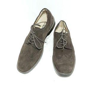G.H Bass & Co Mens Dress Shoes Wingtip Derby US 10